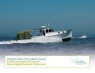 A Socioeconomic Survey of New England Lobster Fishermen