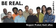 be real brochure eng - GMSH | Gay Men's Sexual Health Alliance
