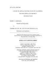 Bowman v. Tommie Wyatt, Jr., et al. Appellant's Opening Brief