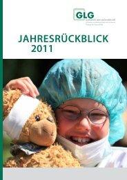 jahresrückblick 2011 - GLG Gesellschaft für Leben und Gesundheit ...