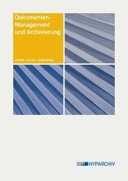 Dokumenten- Management und Archivierung - BIT ...