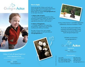 GIA Brochure Download Version - The Giving in Action Society