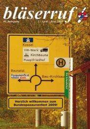 Bläserruf 02-2009.pdf - Gnadauer Posaunenbund
