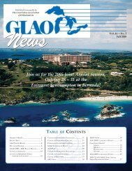 GLAO Fall 2005 Newsletter