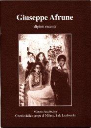 Page 1 Page 2 Giuseppe Afrune testo di Carlo Franza dal 25 ...