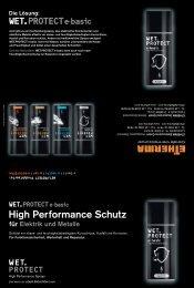 für Elektrik und Metalle High Performance Schutz