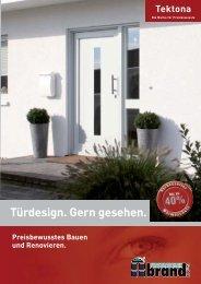 Türfüllungen - Katalog Tektona - Fenstertechnik brand GmbH