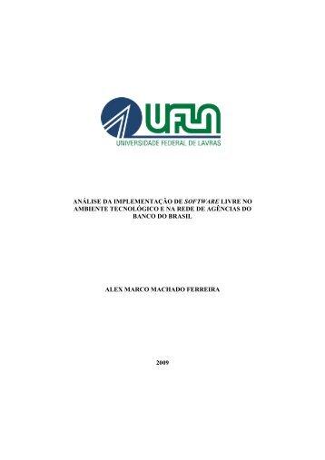 Monografia - Alex Marco - 2009 - Texto Final - Ginux