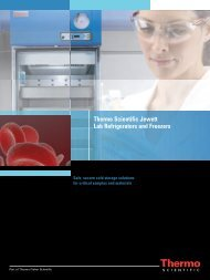 Thermo Scientific Jewett Lab Refrigerators and Freezers
