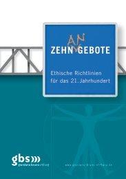 Zehn Gebote - Giordano Bruno Stiftung