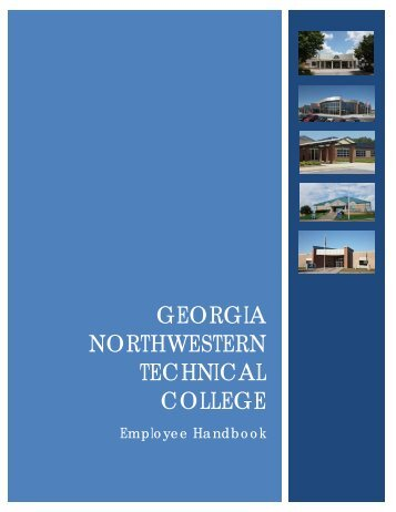 Employee Handbook - Georgia Northwestern Technical College