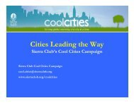 Global Warming Cool Cities - GLPTI