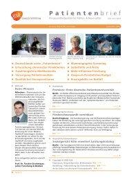 Patientenbrief September 2006 - GlaxoSmithKline