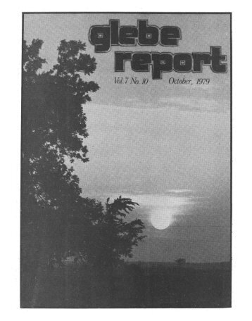 Glebe Report - Volume 7 Number 10 - October 1979