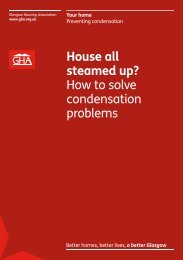 House all steamed up? - Glasgow Housing Association