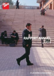 Rapport annuel 2004 - GL events