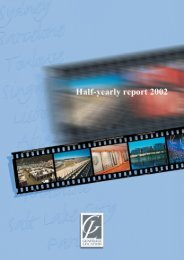Half-yearly report 2002 - GL events