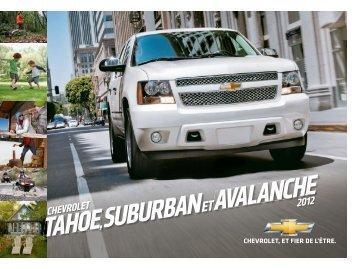 Suburban - GM Canada