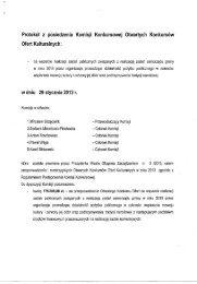 Protokół z posiedzenia Komisji Konkursowej Otwartych ... - Głogów