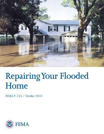 Repairing Your Flooded Home - Broome County