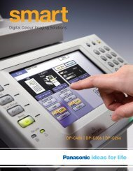 Panasonic C406 PDF - Continental Imaging Products