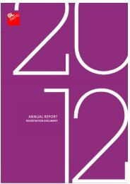 Annual report - Registration document 2012 - GL events