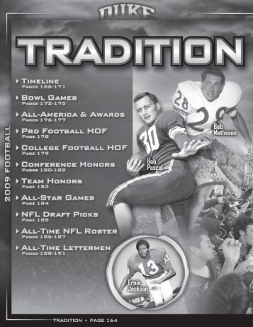 tradition g page 164 tradition g page 164 - Duke University Athletics