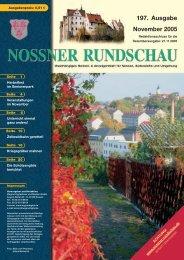 197. Ausgabe November 2005 - Nossner Rundschau