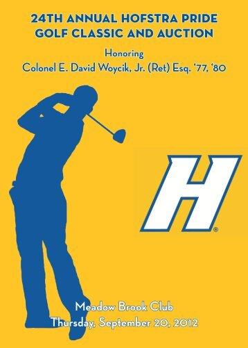 Golf Classic Brochure - GoHofstra.com