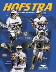 2011 Hofstra Men's Lacrosse Media Guide (PDF) - GoHofstra.com
