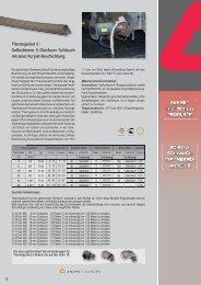 THERMOJACKET Glasfaser-Schlauch bis 538°C ... - Gogatec