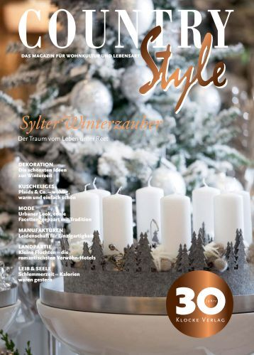 Gitschberg in Country Style Magazine