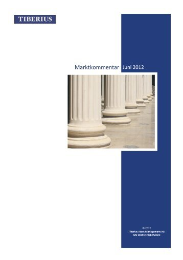 Marktkommentar Juni 2012 - GoldSeiten.de