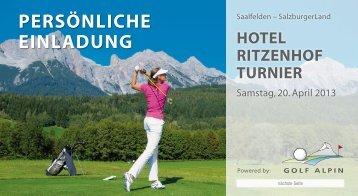 PERSÖNLICHE EINLADUNG - Golfclub Kirchheim-Wendlingen