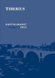 KaPITalmaRKT AUSBLICK 2013 - GoldSeiten.de