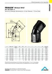 FRIALEN®-Winkel W45°