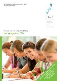 EGZB - Fortbildungsprogramm 2014