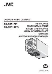 TK-C9510E TK-C9511EG - JVC Kenwood