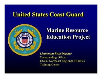United States Coast Guard United States Coast Guard