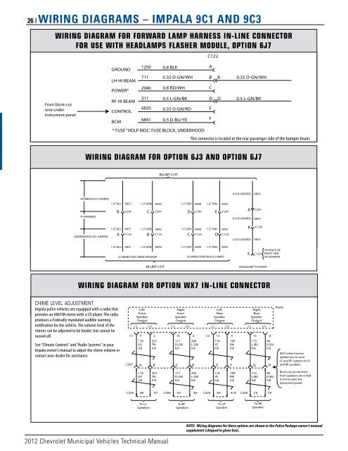 26 | Wiring Diagrams Impala Wiring Diagrams on