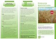 Glutenvrije dieetinformatie - Nederlandse Coeliakie Vereniging