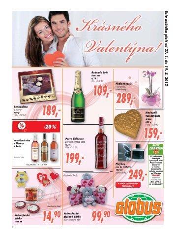 Tato nabídka platí od 27. 1. do 14. 2. 2012 - Globus