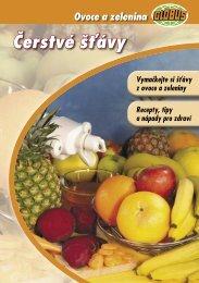 Vyzkoušejte čerstvé šťávy z ovoce a zeleniny (.pdf, 780KB) - Globus