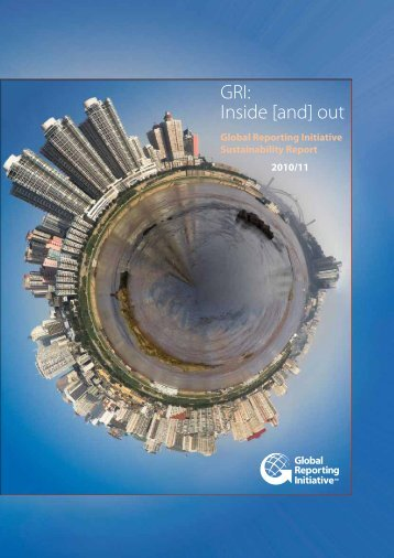 GRI: Inside [and] out - Global Reporting Initiative