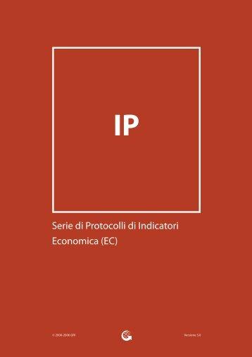 Serie di Protocolli di Indicatori Economica (EC) - Global Reporting ...
