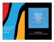 HP Diverse Talent Proposal.pdf - Global Dialogue Center