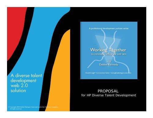 Hp Diverse Talent Proposal Pdf Global Dialogue Center