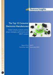 The Top 10 Consumer Electronics Manufacturers - Business Insights