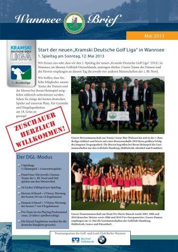 Wannsee Brief Mai 2013 - Der Golf- und Land-Club Berlin-Wannsee ...
