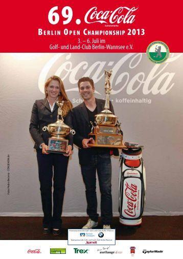 3. – 6. Juli im Golf- und Land-Club Berlin-Wannsee e.V.
